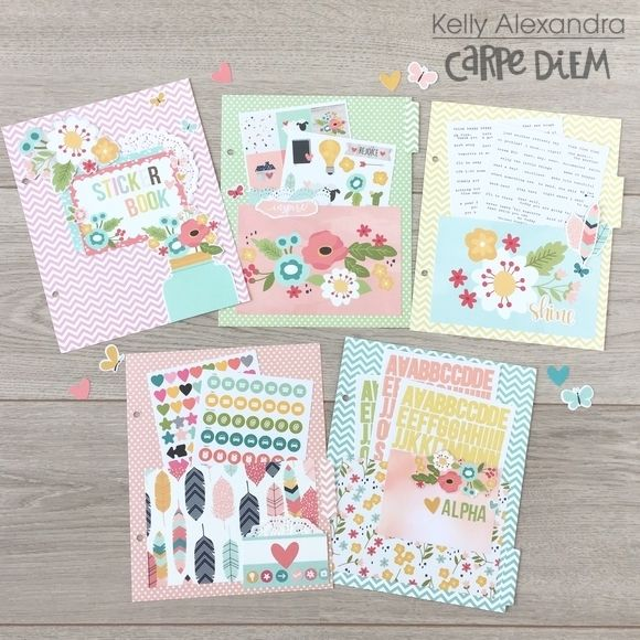 Sticker Storage, Planner Stickers