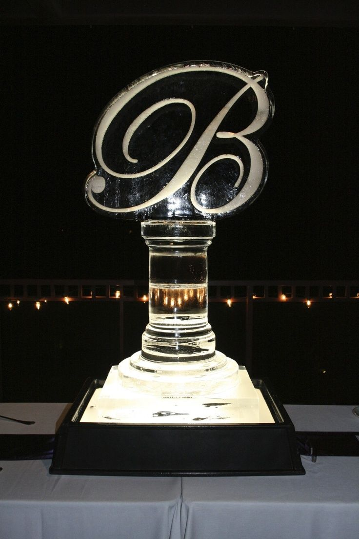 Ice Sculpture Monogram