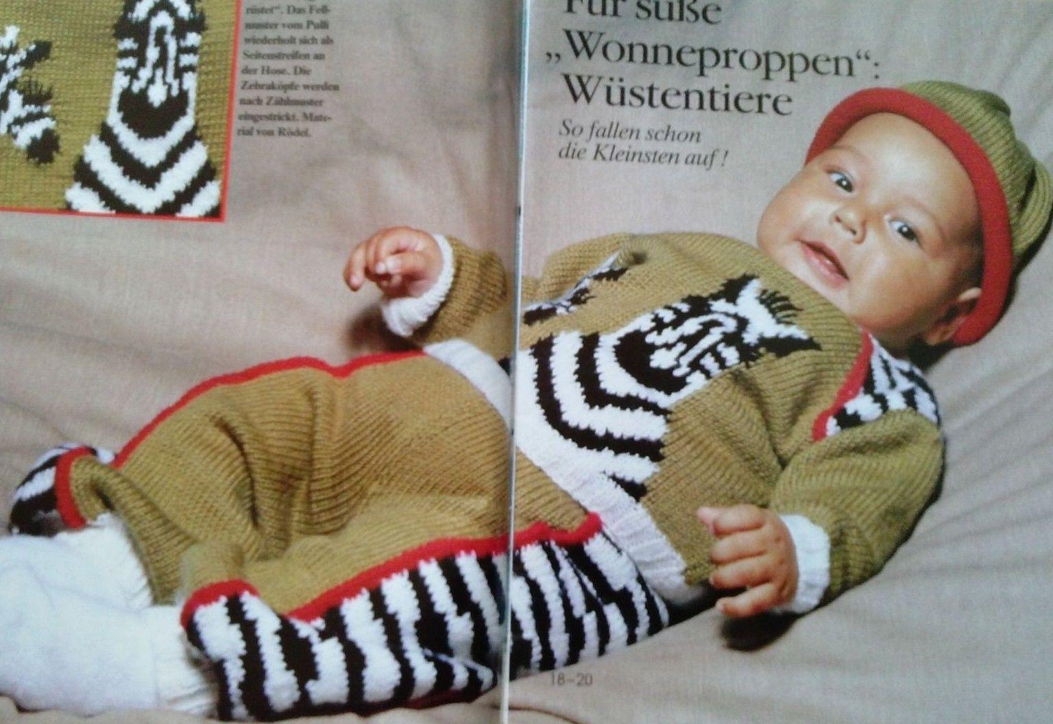Strickheft Burda Special Stricken Fürs Baby Handarbeitsheft