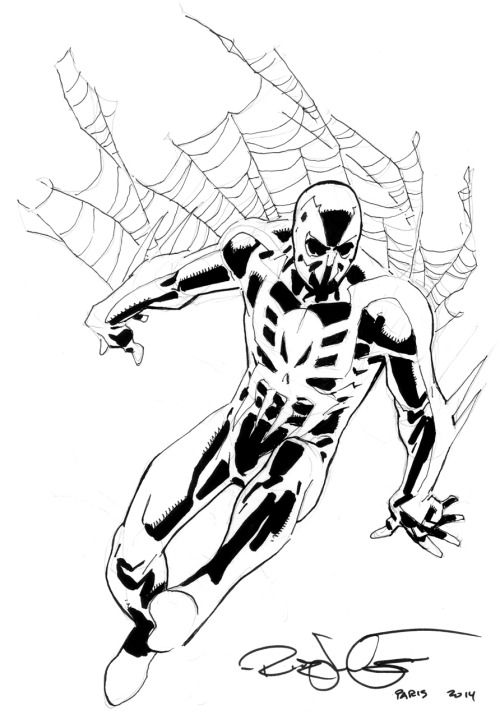 SpiderMan 2099 by Rick Leonardi  Rick Leonardi  Pinterest