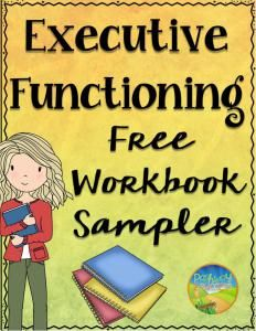 Executive functioning strategies middle school