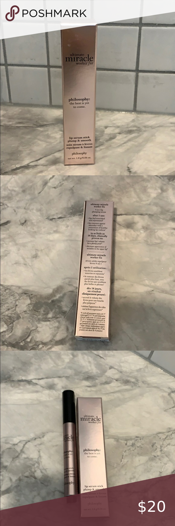 Philosophy Ultimate Miracle Worker Lip Fix Philosophy Lip Gloss Lips The Balm