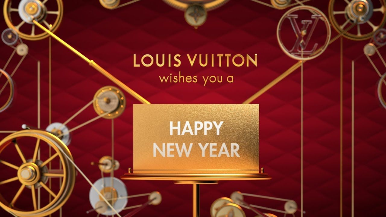 Happy New Year from Louis Vuitton Vintage designer