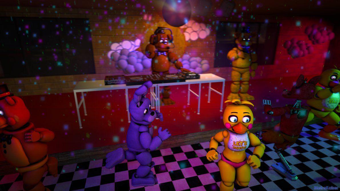 SFM FNAF: Disco at Freddy's by wstmetro