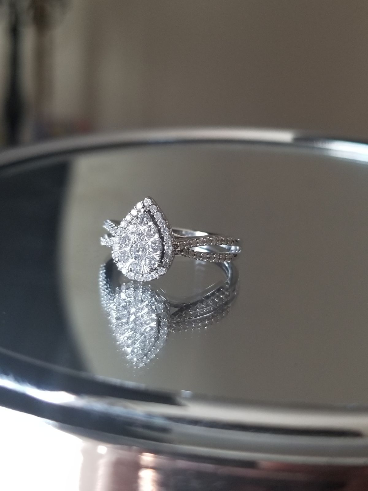 Size 6 5 Worth 1 500 Womens 1 2 Ct T W Genuine White Diamond 10k White Gold Engagement Rin Kay Jewelers Rings White Gold Engagement Rings Fashion Rings