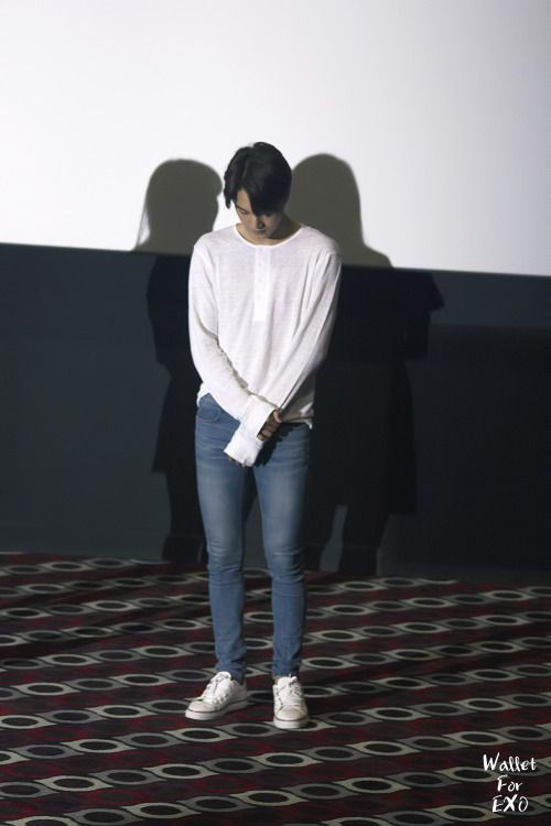 Kai - 150820 'SMTown The Stage' stage greeting Credit: Wallet For EXO. ('에스엠타운 더 스테이지' 무대인사)