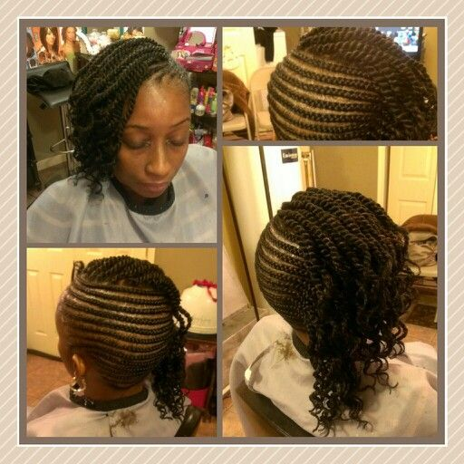 28++ Side cornrows with twists inspirations