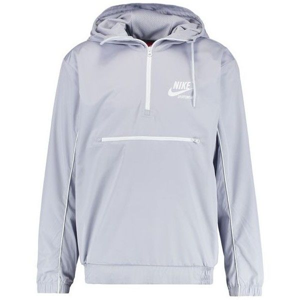 Nike Sportswear ARCHIVE Windbreaker ( 100) ❤ liked on Polyvore featuring  activewear and activewear jackets 585ec631a