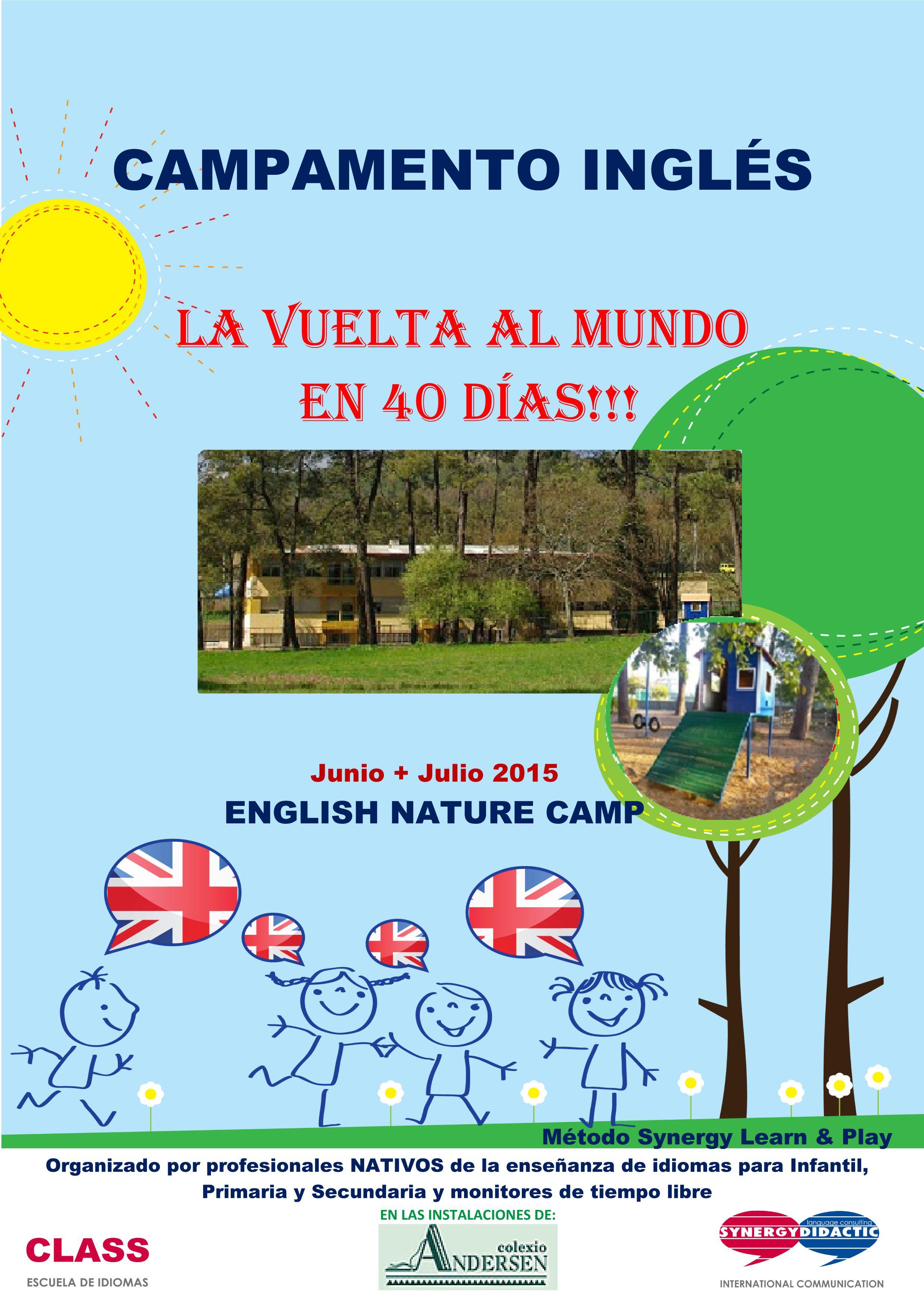 Tus hijos aprenderán inglés en un entorno natural