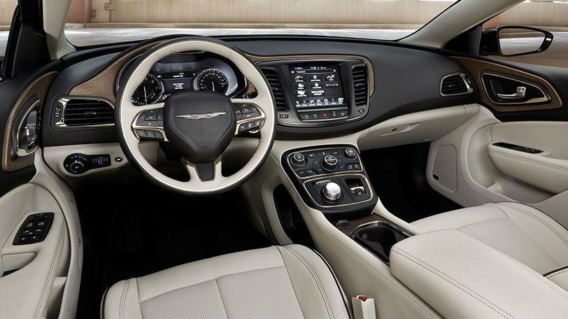 2015 Chrysler 200 Limited Linen Interior Chrysler Town And