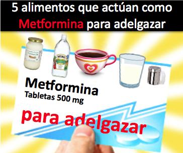 Que tan efectiva es la metformina para adelgazar