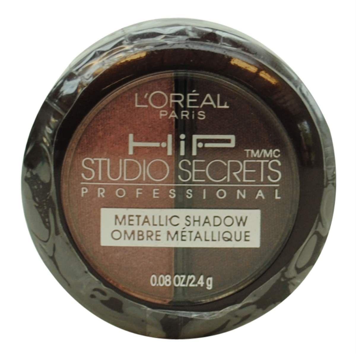 L'oreal Hip Studio Secrets Metallic Shadow Duo #106 Sculpted ...