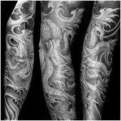 Photo of #TattooSleeve #ArmSleeveTattoo Männliche japanische Octopus Sleeve Tattoo Design Inspi …