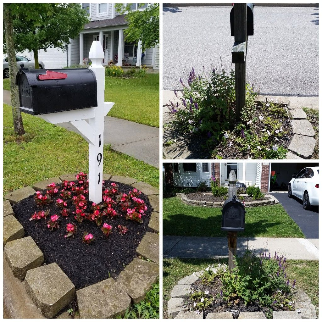 Before And After Mailbox Makover