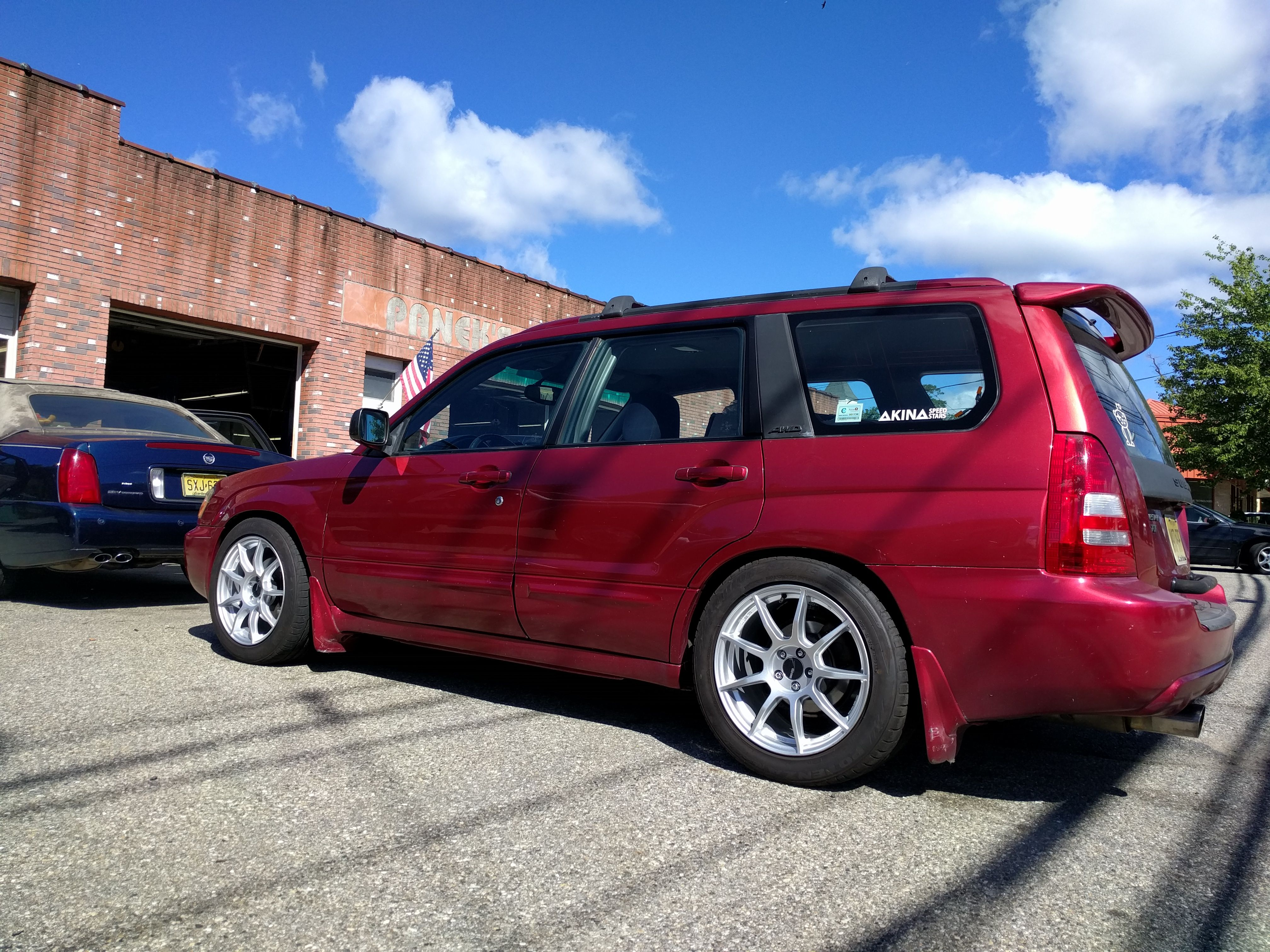 Post a pic of your ride height setup page 90 subaru forester owners forum