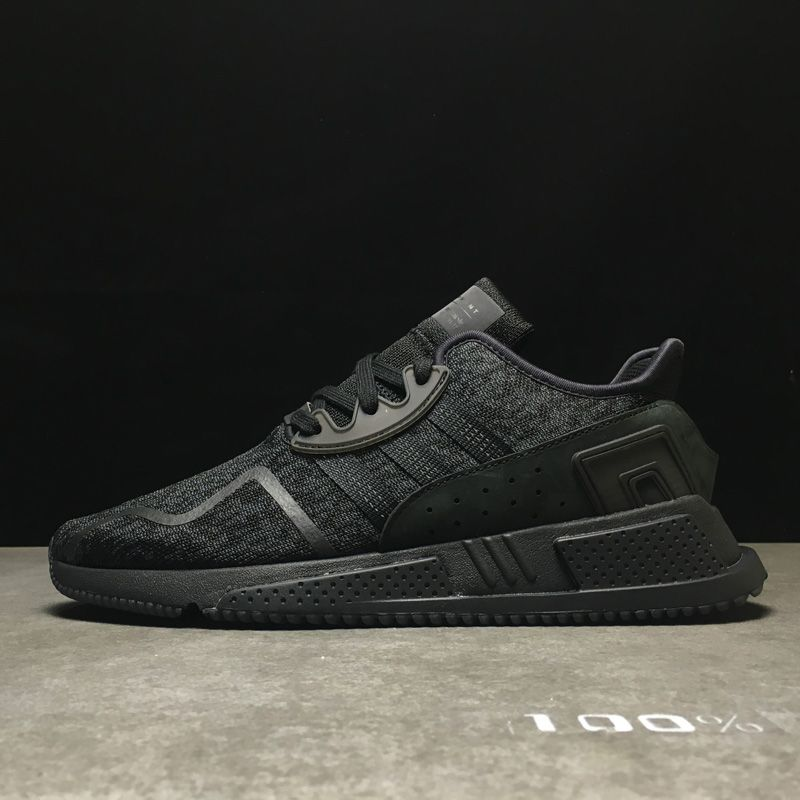 Adidas EQT Cushion ADV 9117 god edition limited edition casual running shoes  black (men's shoes