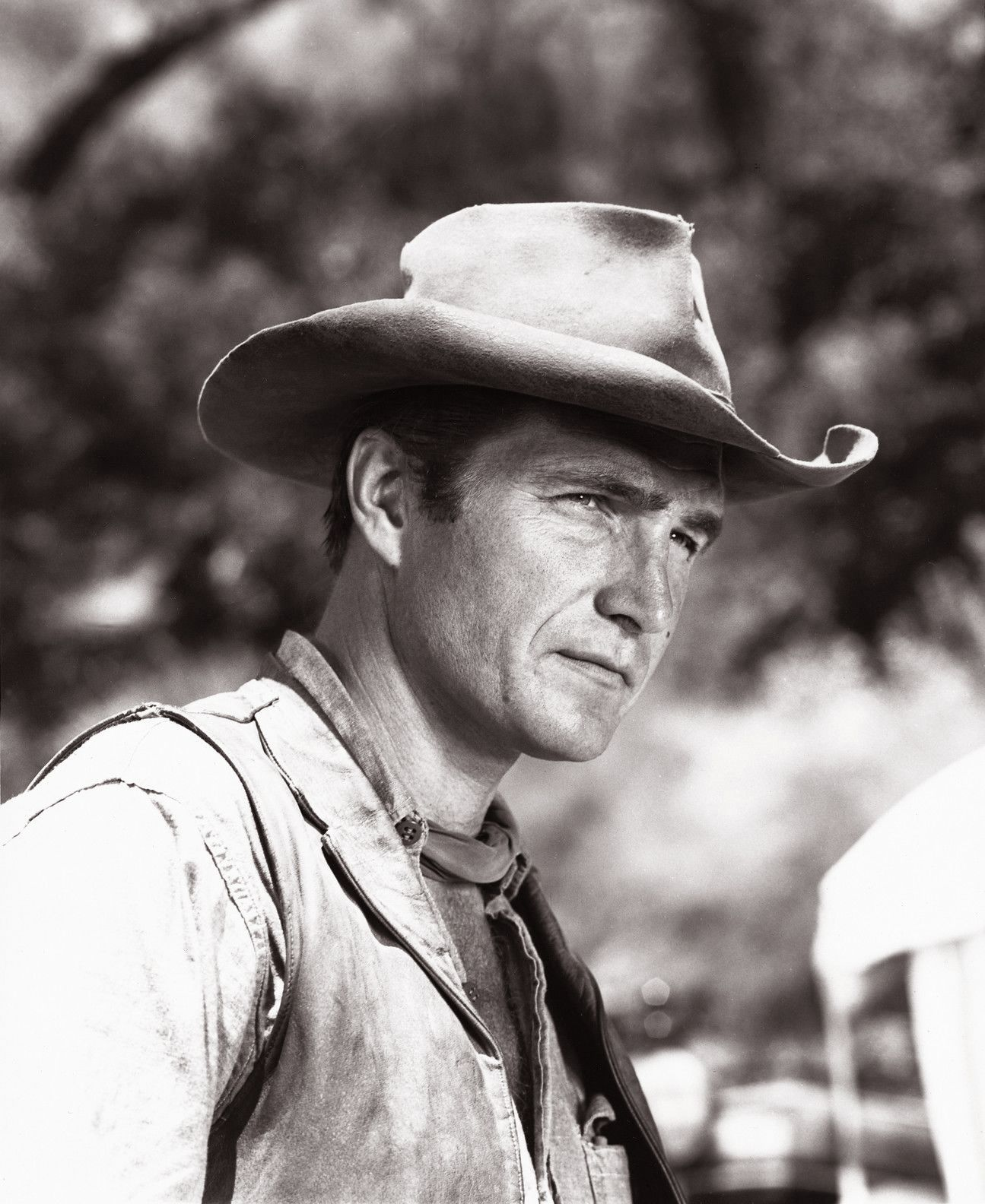 Eric Fleming From Rawhide  Clint Eastwood, Old Western -8789