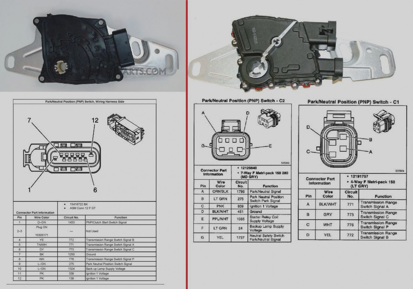 Great Of Neutral Safety Switch Wiring Diagram Chevy Back Up Lights Inside For Safety Switch Chevy Transmission Neutral