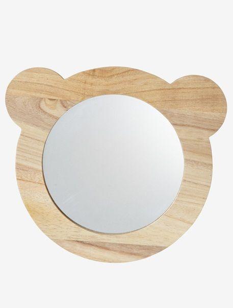Miroir tête d\'Ours Bois - vertbaudet enfant   Chambre du petit ...