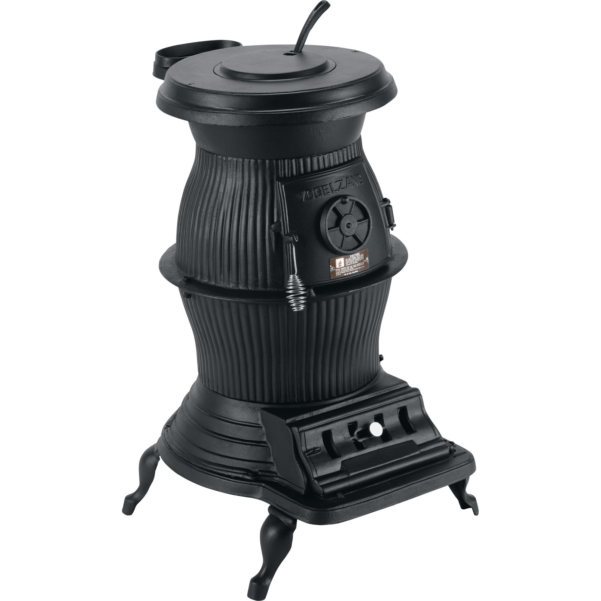 Vogelzang 65,000 BTU Cast Iron Pot Belly Stove, Model# PB65XL ...