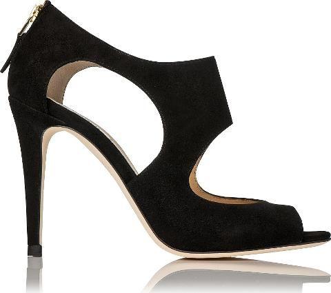 Alma Suede Sandal Black #Sandals #L.K. Bennett #fashion #obsessory #fashion #lifestyle #style #myobsession