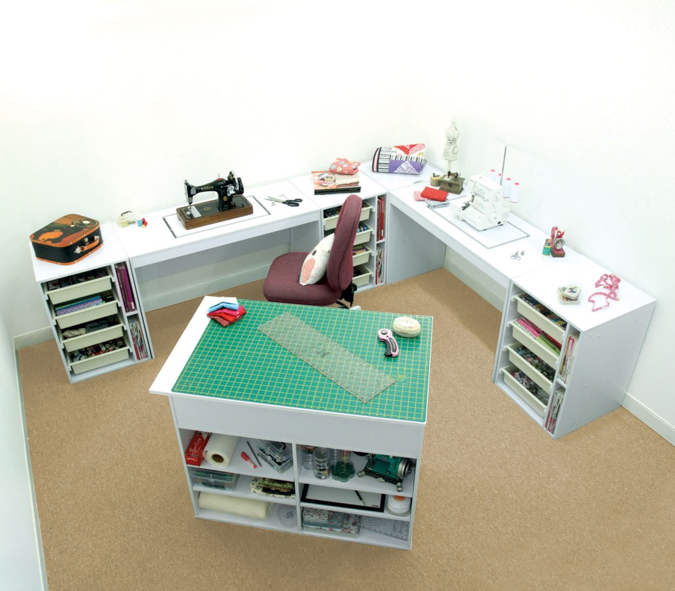 Sewing Furniture Modular Elements Package Promo By Tailormade In Furniture    Koala U0026 Tailormade Furniture