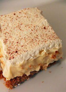Eggnog Cheesecake Mousse Dessert! Looks devine... #eggnogcheesecake Eggnog Cheesecake Mousse Dessert! Looks devine... #eggnogcheesecake