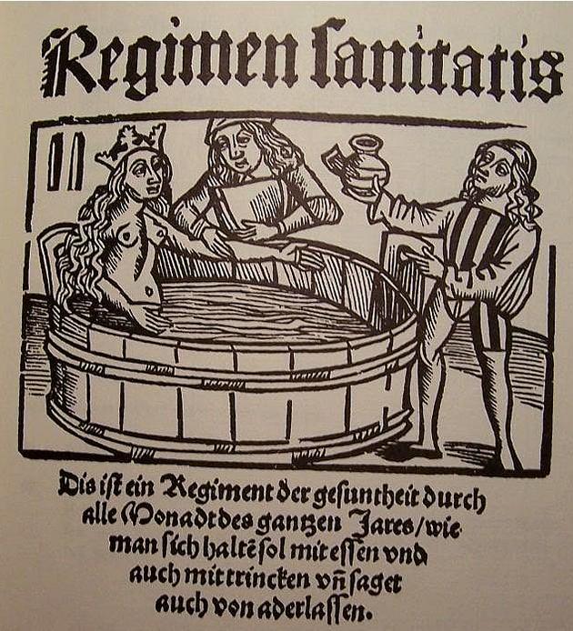 Arnaldo da Villanova -Le opere a lui attribuite sono: il De Vinis, il De Venenis, il Causilium ad regem Aragonem de salubri hortensium..., e il commento al Regimen Sanitatis Salernitanum.