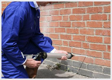 Does damp lead to dry rot or wet rot contrary to popular professionals can inject chemicals into your walls to create a damp proof course dpc solutioingenieria Images
