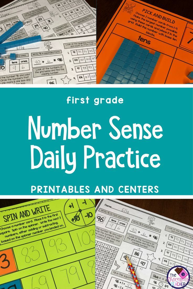 Number Sense Activities Daily Math Month 6 Number and Operations in ...