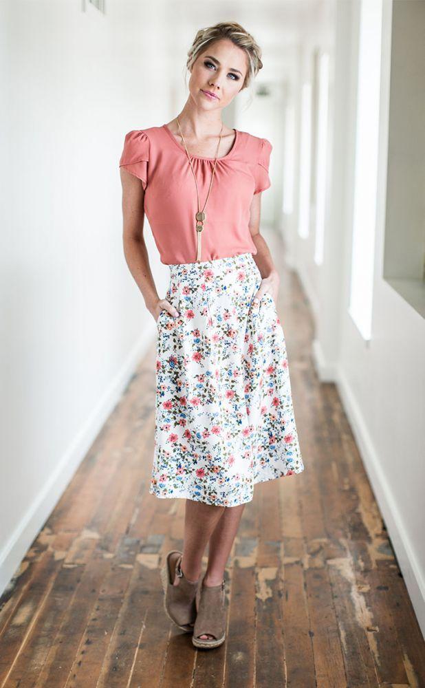 b5625c02f Floral Skirt - MSS17230