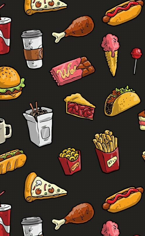Taco Pictures Cartoon Cute Wallpaper Food Wallpaper And Background Image In 2019 Food
