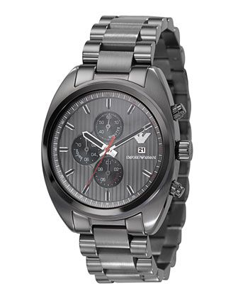 1f99c145a1e Gunmetal Chronograph Watch - Last Call by Neiman Marcus