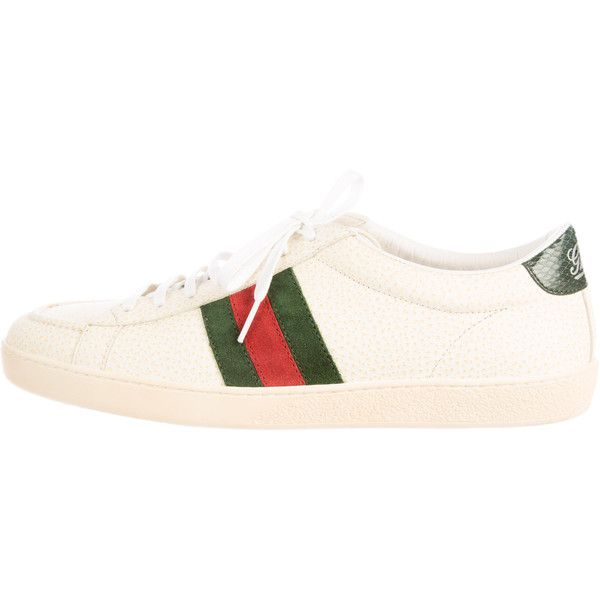 Pre-owned - Leather trainers Gucci ftXEtWMIe