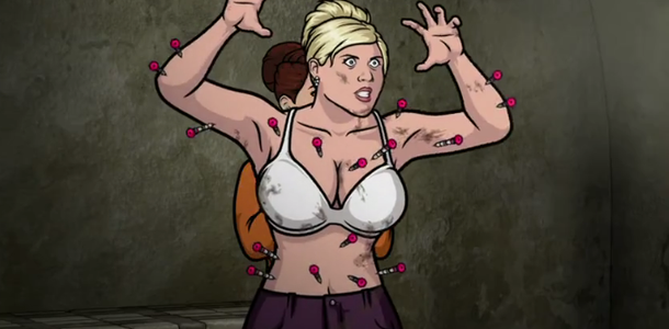 archer pam hook up