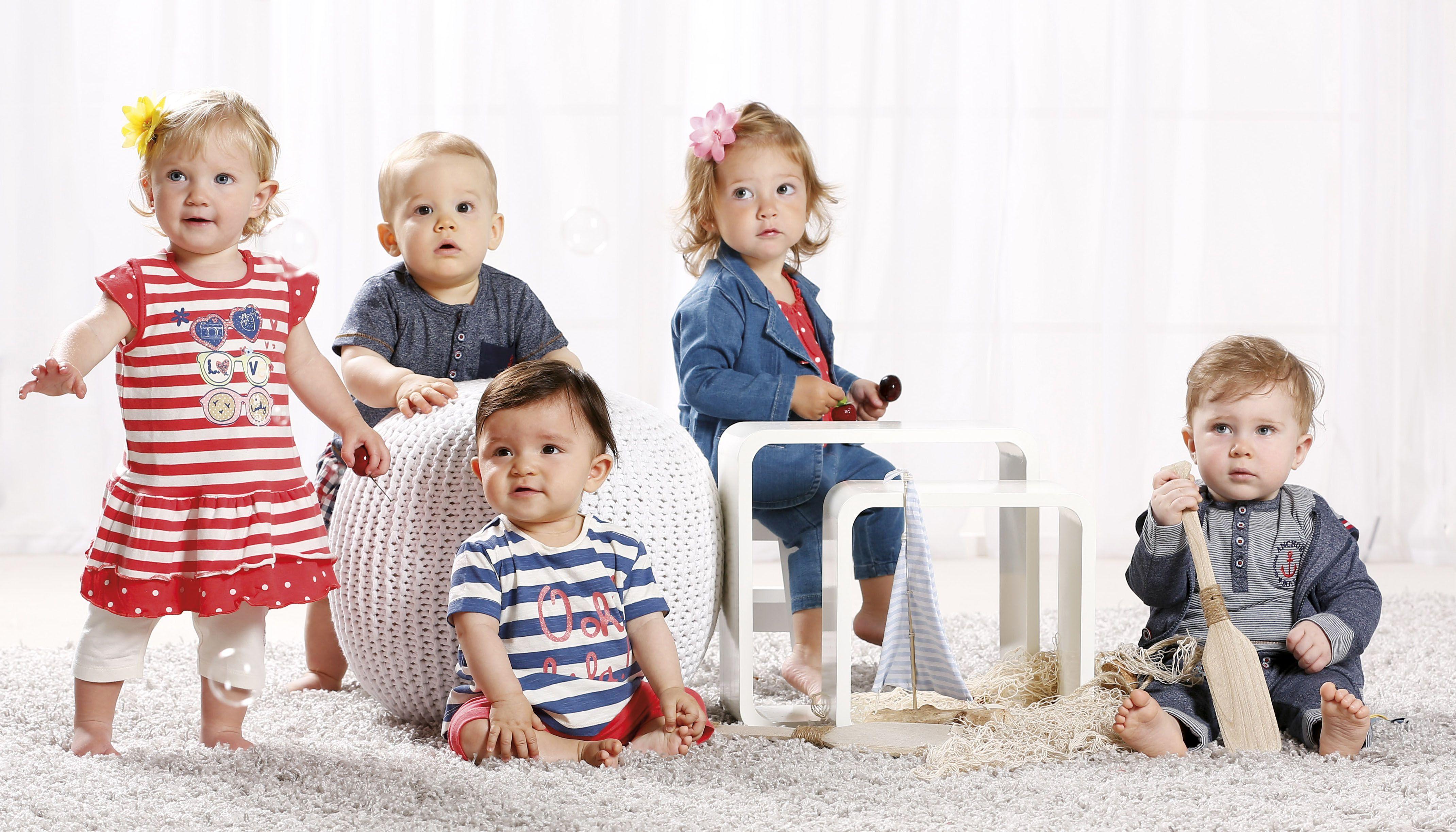 Goldige Kindermode für kleine Mädchen und kleine Jungs von BONDI ...