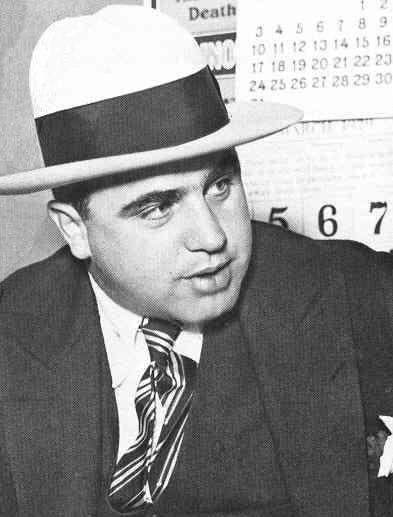 dbc46f37da6 Chicago mob boss Al Capone