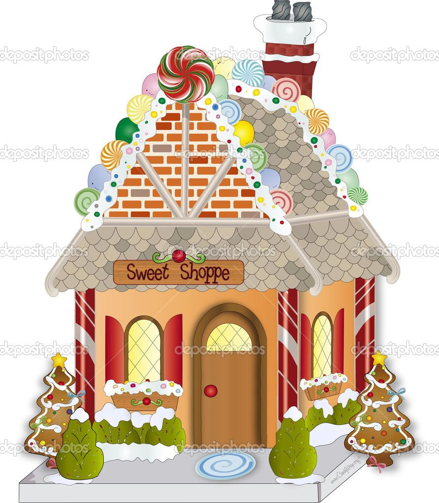 free gingerbread house clipart - photo #49