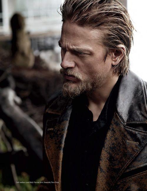 Jax Teller The Only Blond Beard That I Don T Find Revolting Charlie Hunnam Beard Facial Hair