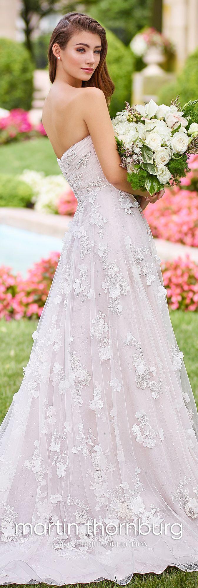 1c08e44889 Martin Thornburg 118258 Harmony - Ultra-feminine Harmony is a strapless  sequin lace appliqué