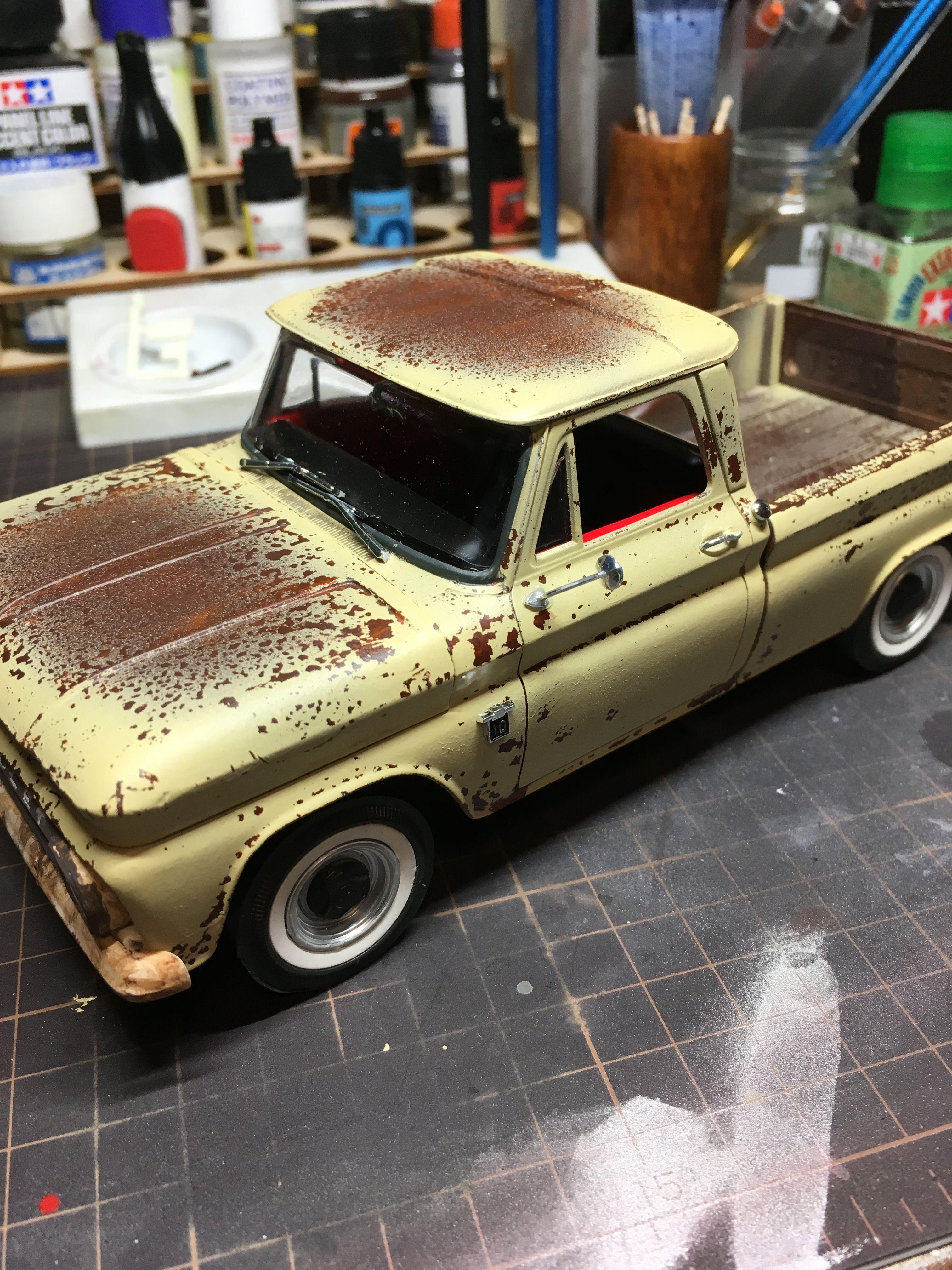 64 Chevy Fleetside Pickup 1 25 Revell Model Cars Kits