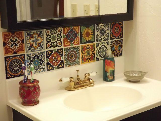 Mexikanische fliesen k che k che pinterest fliesen mexikanische fliesen k che und badezimmer - Badezimmer marokkanisch ...