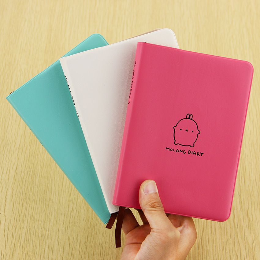 Calendar Notepad Creative Cute Kawaii Cartoon Molang Rabbit diary