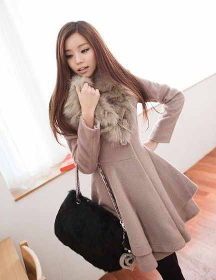 Ladies winter dress coat – Novelties of modern fashion photo blog