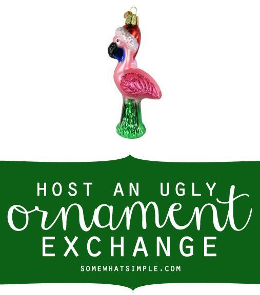Ugly Ornament Exchange Party Christmas Christmas