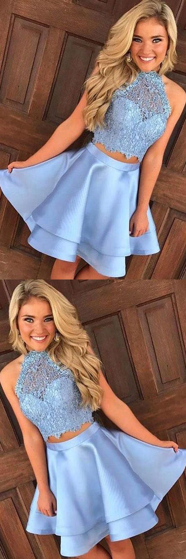Lace prom dresses lacepromdresses prom dresses two piece