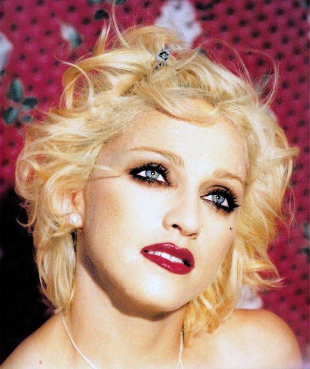 Makeup Haircolor Lip Color Background Madonna Madonna 90s Natural Hair Styles