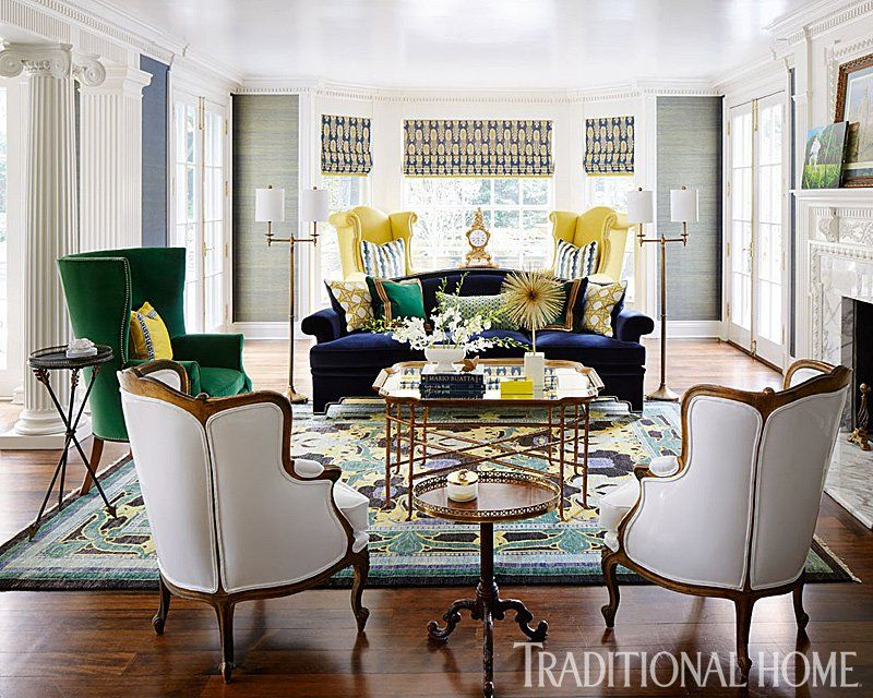 Beautiful Interior Designer Corey Damen Jenkins Has Used Theodore Alexander Furniture  With Panache In The May Edition