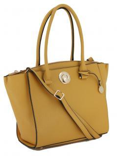 Kurzgrifftasche Delora gelb L.Credi Freundin Collection