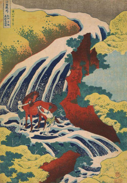 Heaveninawildflower - magictransistor:   Katsushika Hokusai. Yoshitsune...